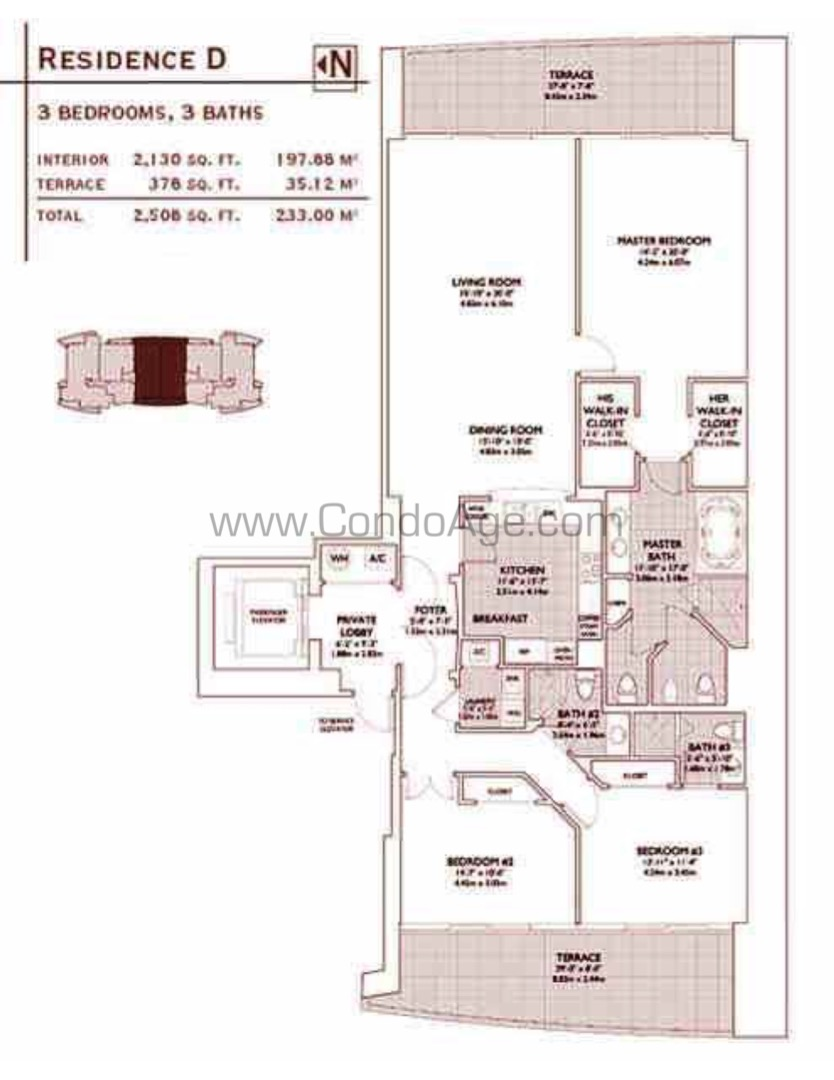 Floor plan image D - 3/3  - 2130 sqft image