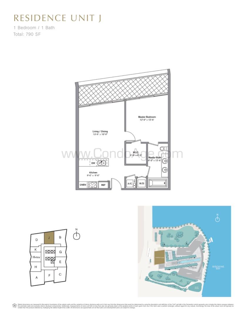 Floor plan image J - 1/1  - 790 sqft image