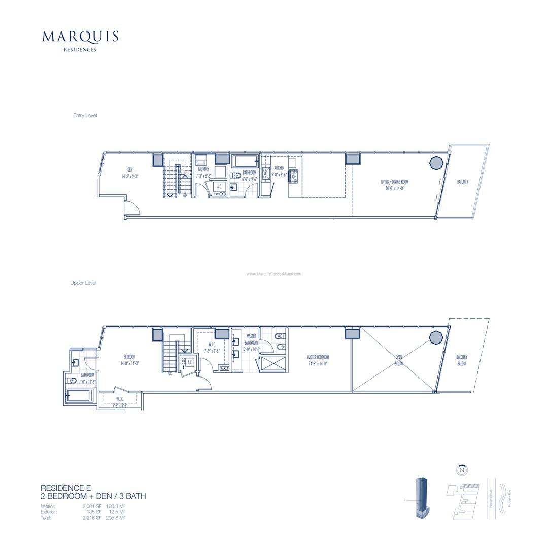 Floor plan image E - 2/3  - 2081 sqft image
