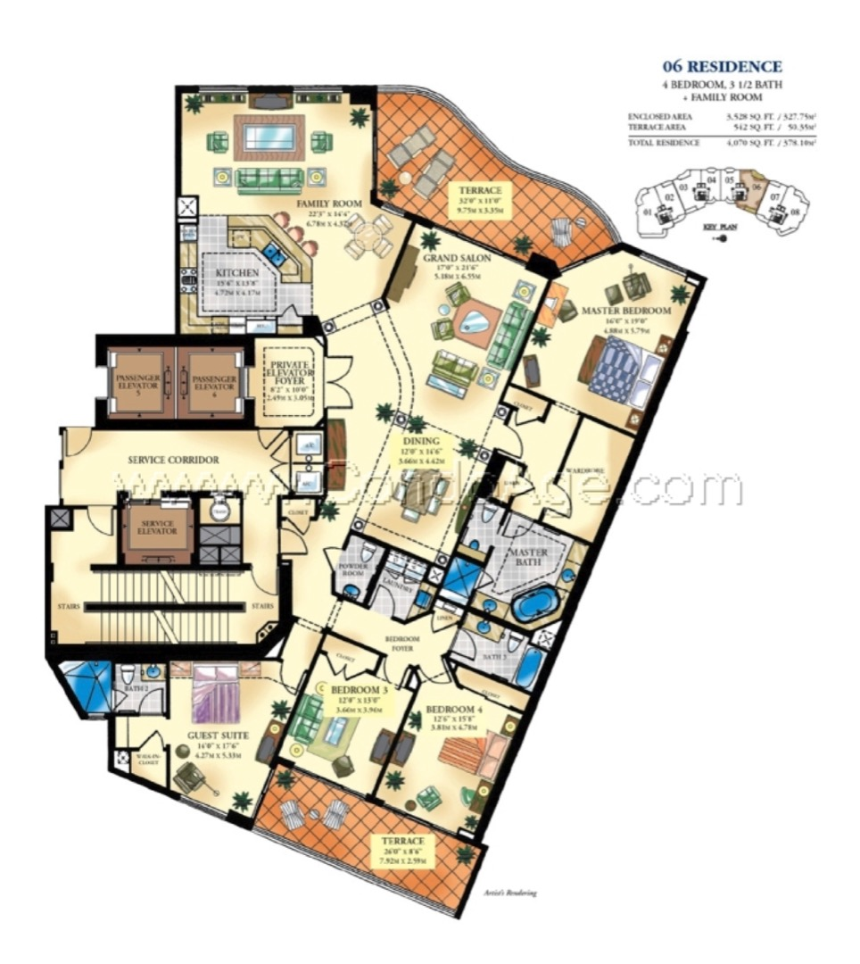 Floor plan image 06 - 2/3/1  - 3528 sqft image