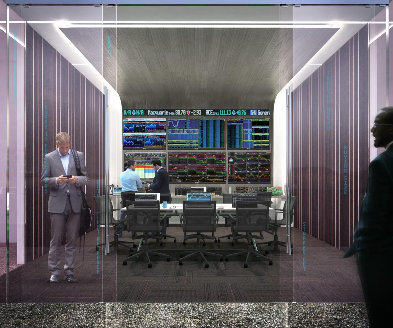 Wall Street Trader's Clubroom image