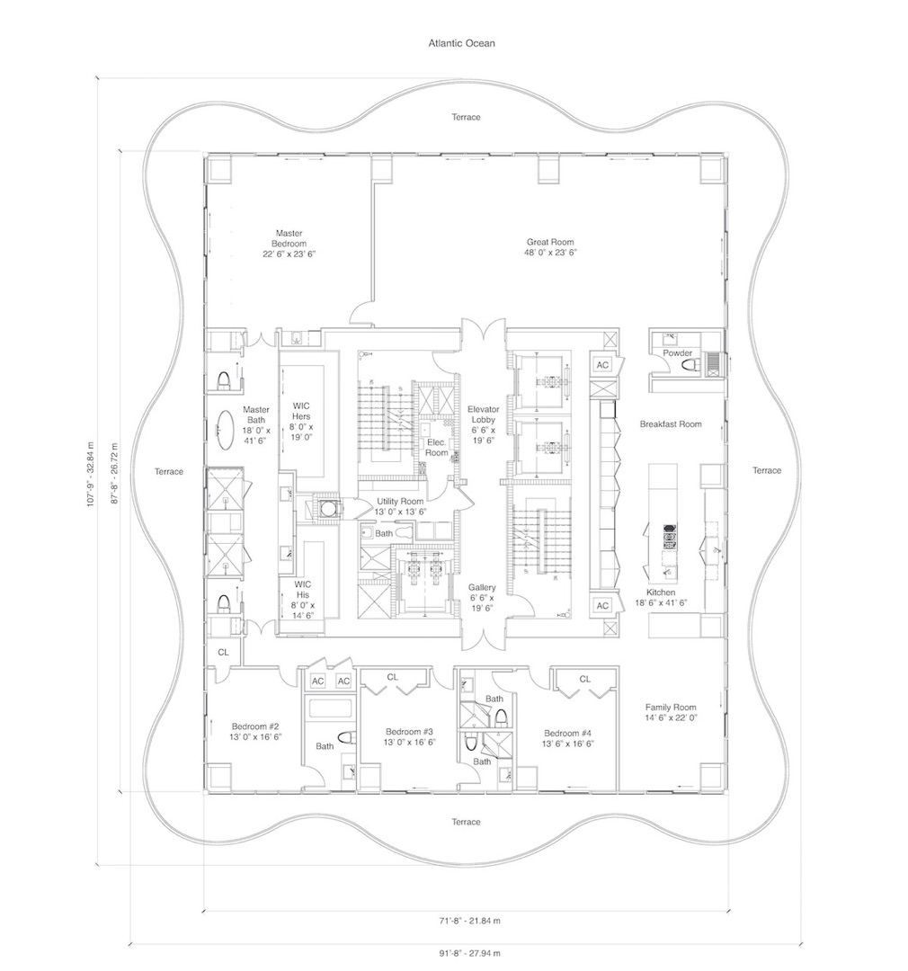 Floor plan image Residence - 4/5/1  - 5515 sqft image