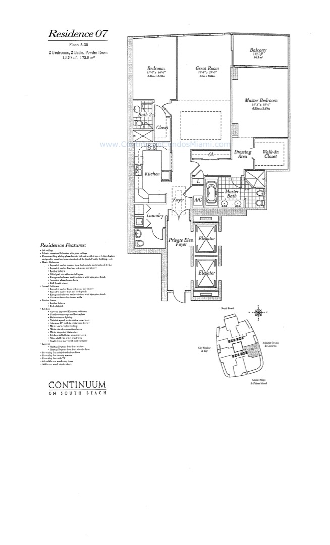 Floor plan image 07 - 2/2/1  - 1870 sqft image