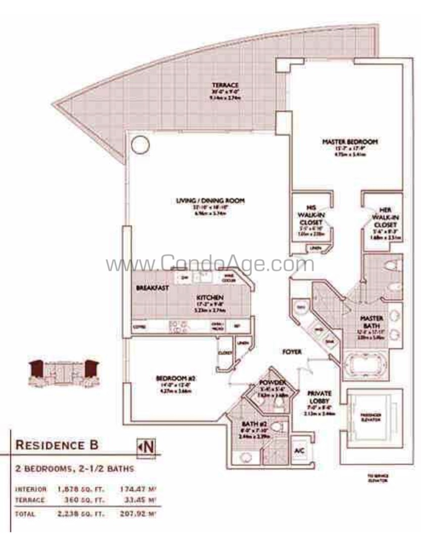 Floor plan image B - 2/2  - 1878 sqft image