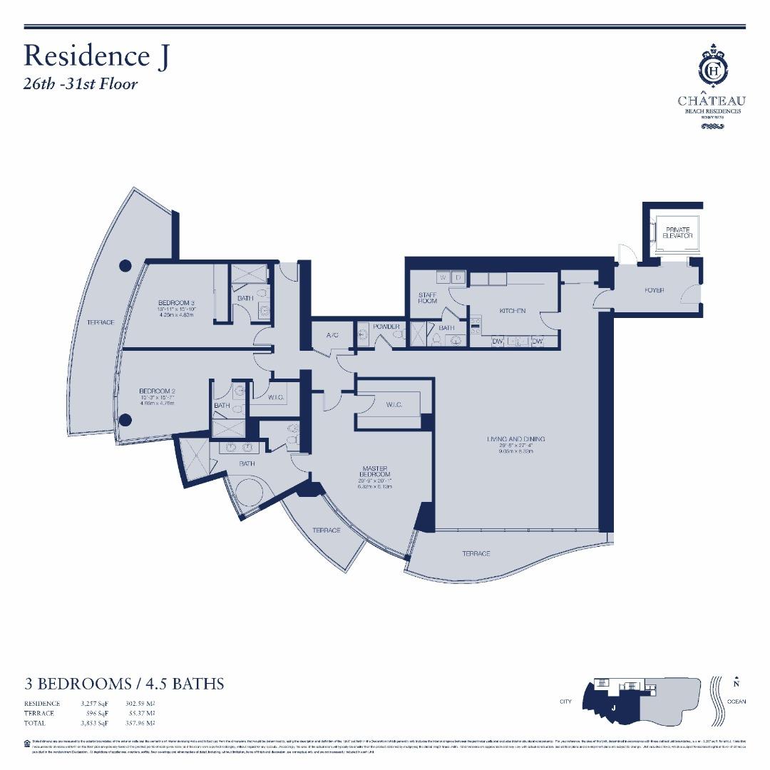 02-J | 2602 - 3102 floor plan image